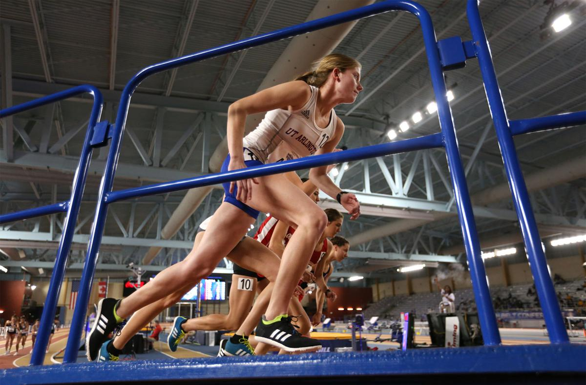 UTA Track and Field teams race in day one of competition