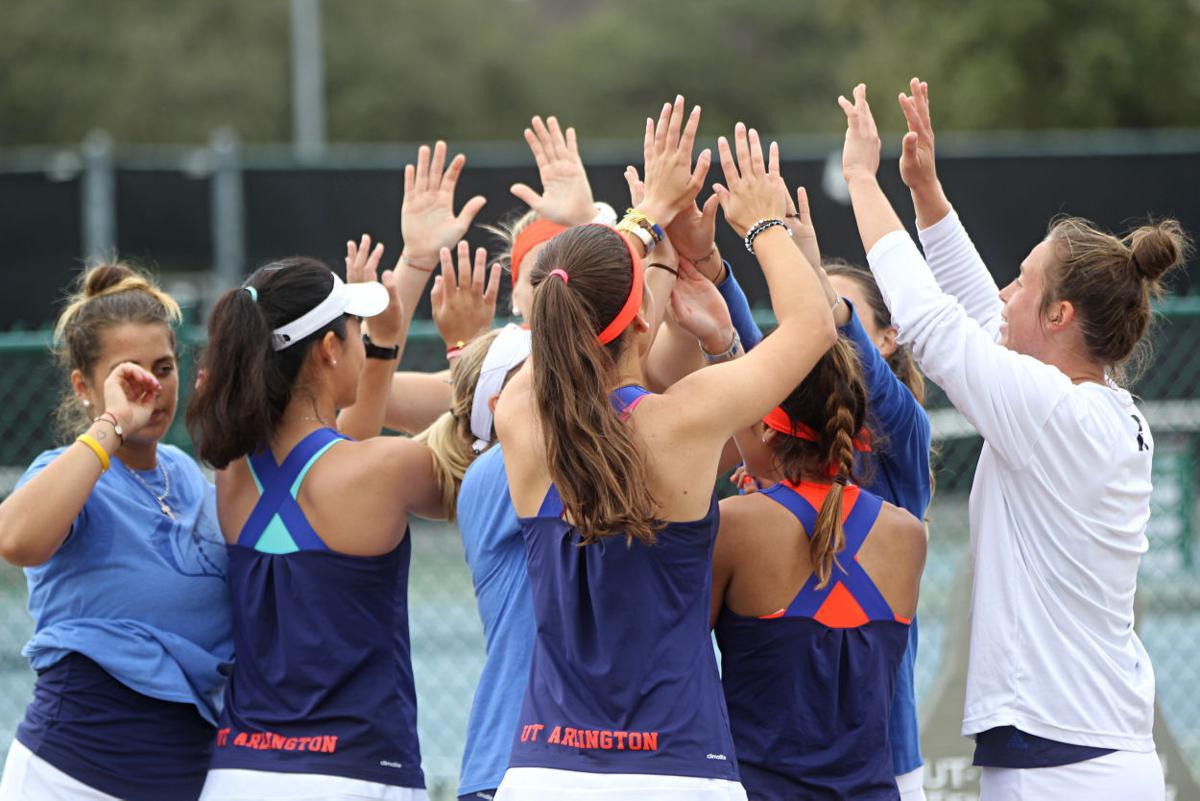 Women's tennis beats Sam Houston State University