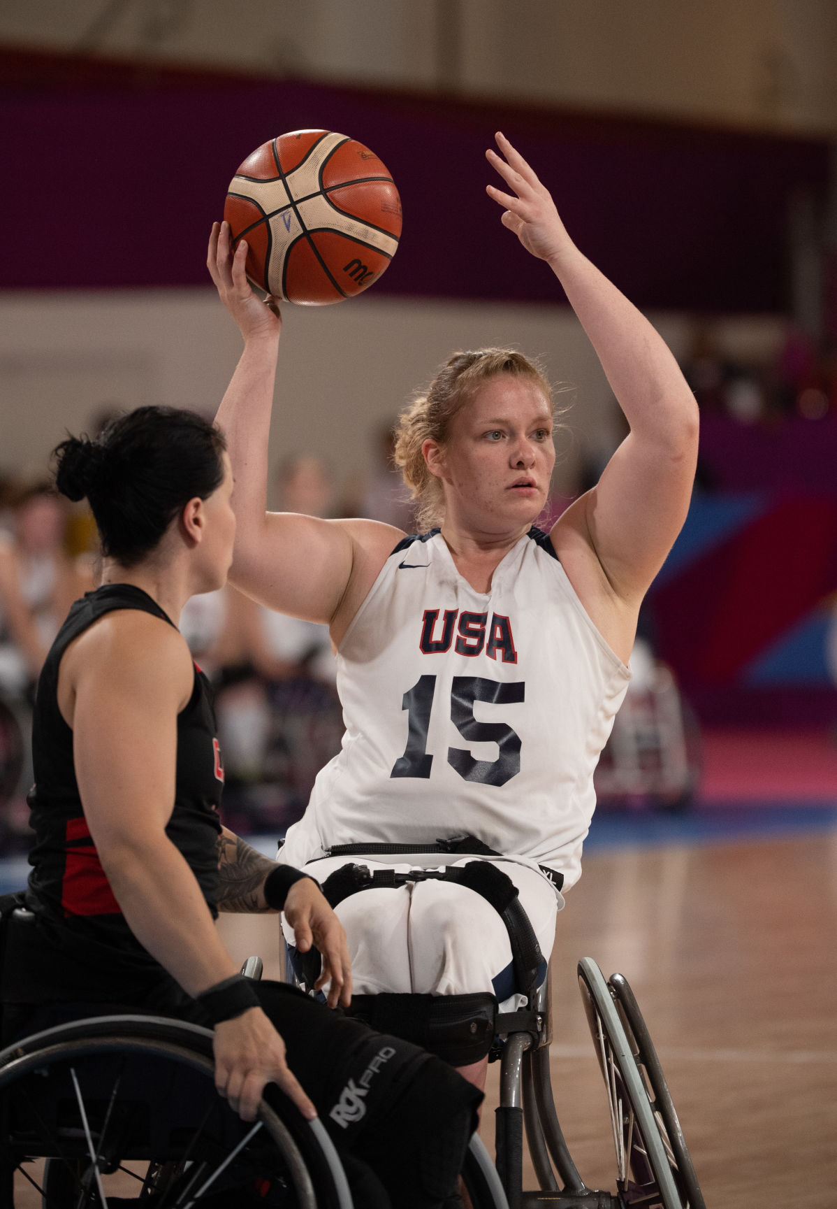 Road to 2020: Current, former Lady Movin' Mavs secure bid to Paralympics