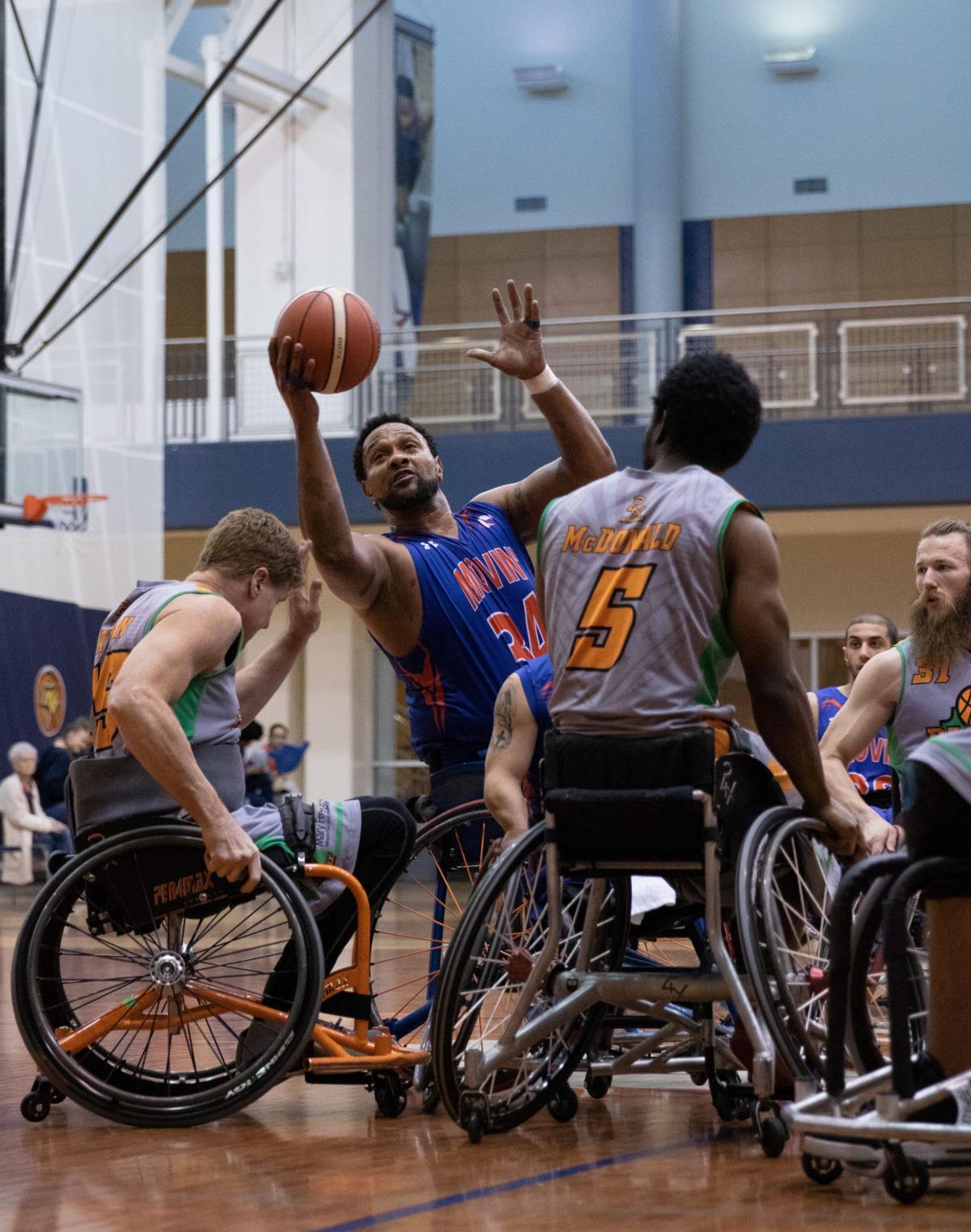 Movin' Mavs teams sweep Saturday's games in Dallas Invitational Wheelchair Basketball Tournament