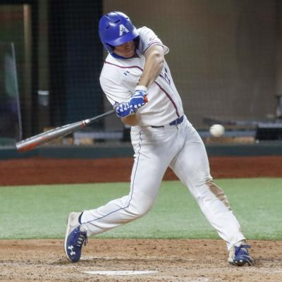 Andrew Miller drives in three home runs in a winning performance against University of Kansas