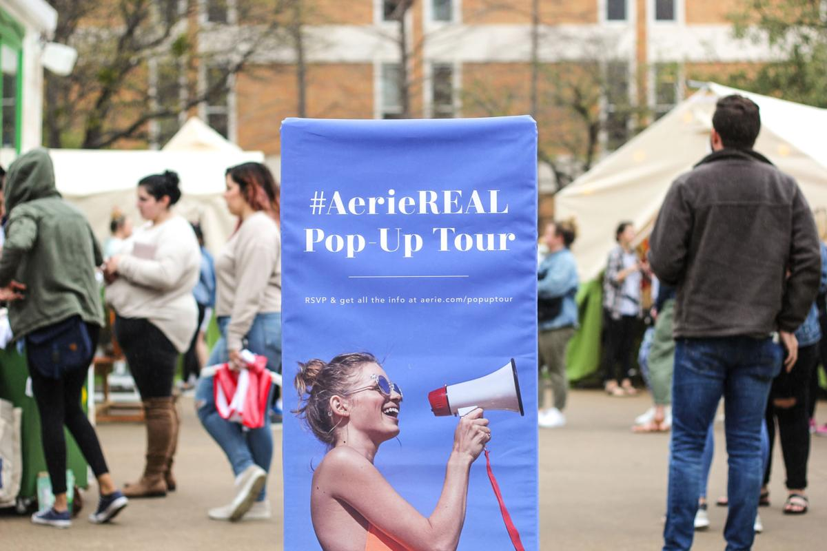 #AerieREAL Pop-Up Tour encourages body positivity