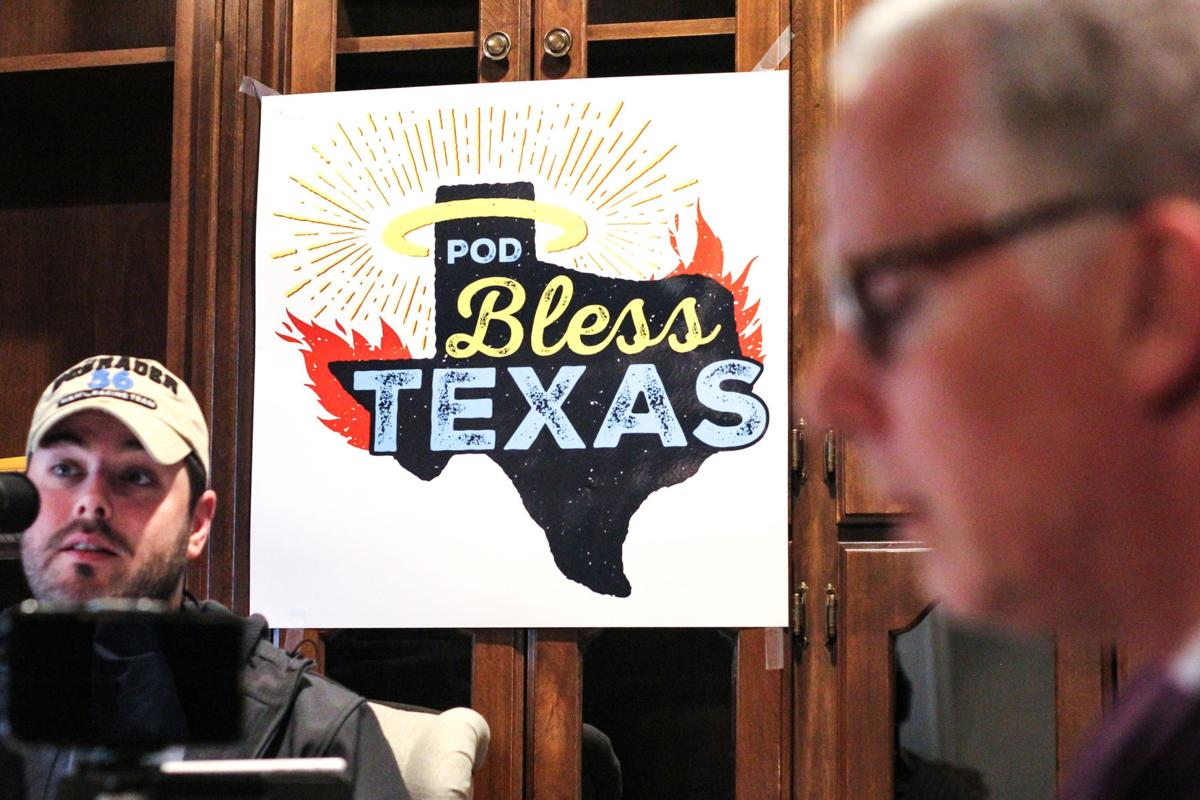 'Pod Bless Texas': a lighthearted, audible experience spreading passion for politics