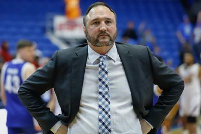 Men's basketball coach Chris Ogden to leave UTA, return to UT-Austin as assistant coach