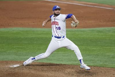 A combined no-hitter and a walk-off help UTA defeat the University of Arkansas at Little Rock