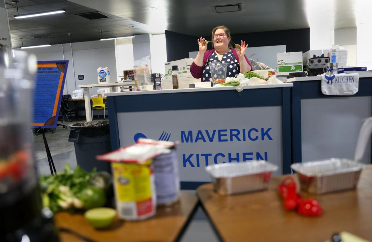 Maverick Kitchen: Game Day Eats event teaches students how to make Super Bowl snacks