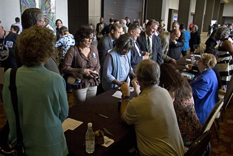 Democratic Convention kickoff reception