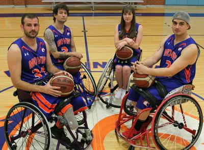 Wheelchair basketball program history, prestige attracts veterans