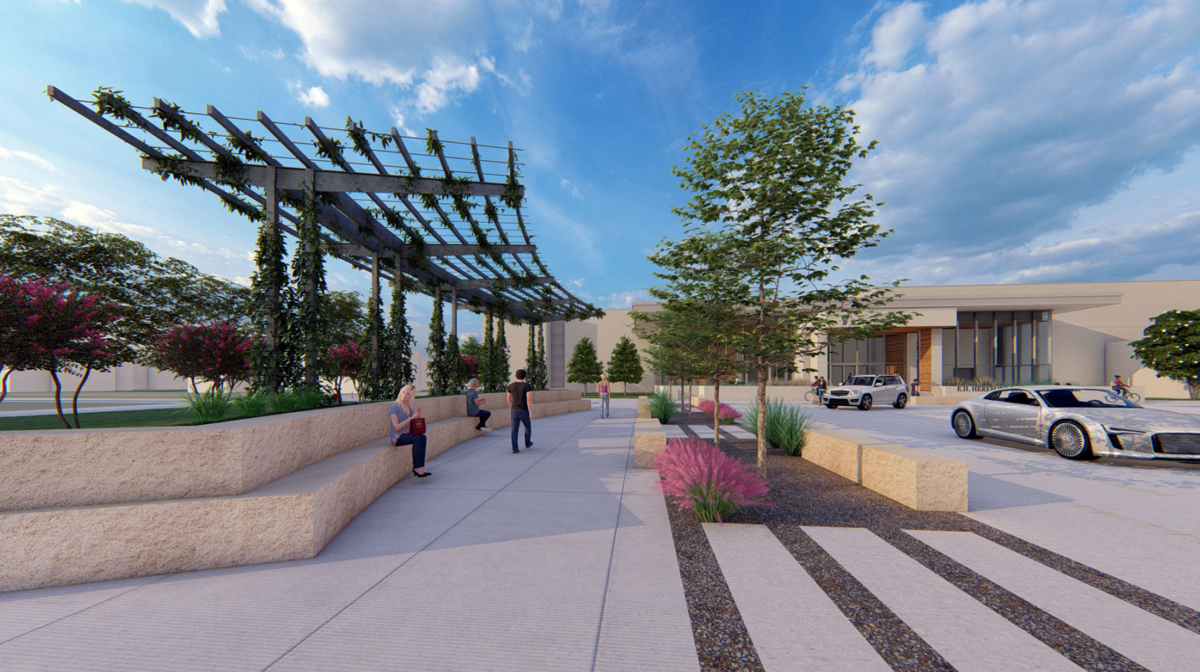 Pedestrian mall, grand entrance updates expected for the University Center
