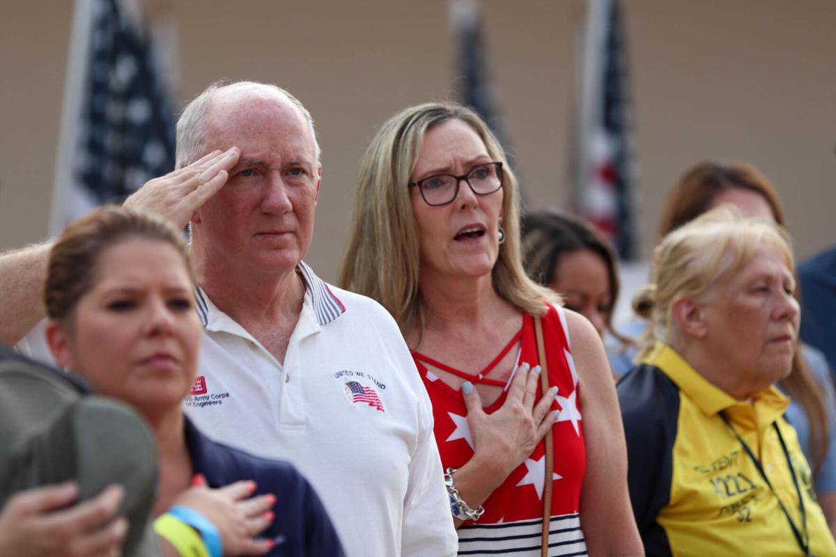 Levitt Pavilion hosts Stars, Stripes and Remembrance concert for the 20th anniversary of 9/11