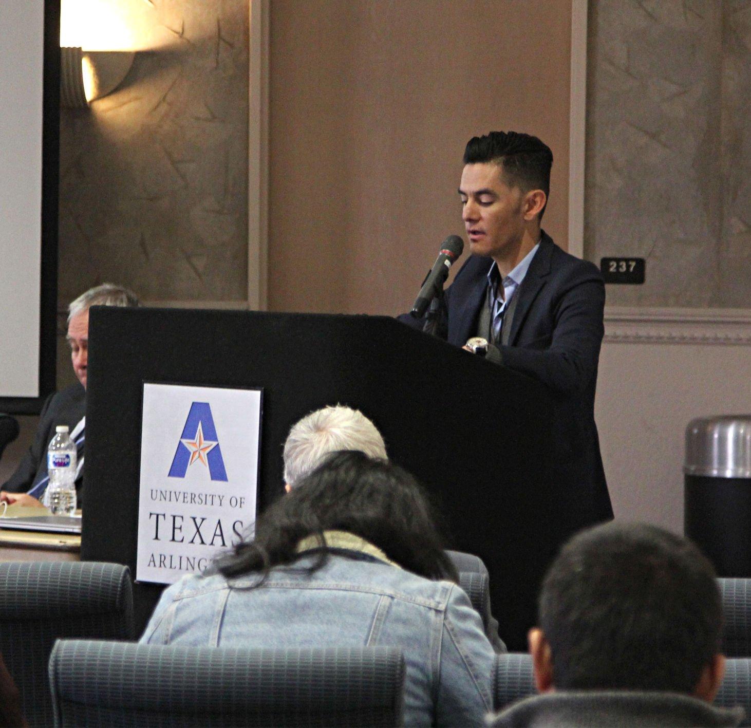 UTA professor hosts waste management conference