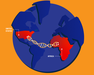 The role of ancestry tests in modern black American identity