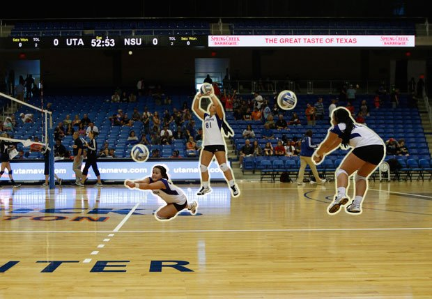 Maverick volleyball players compete for libero position ...