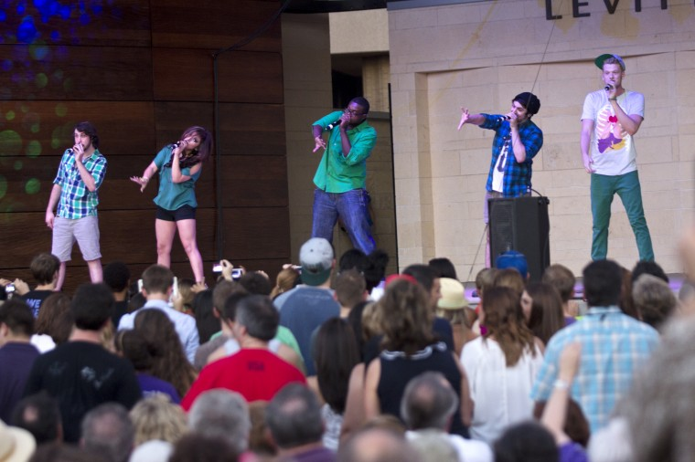 Pentatonix Concert at the Levitt Pavilion