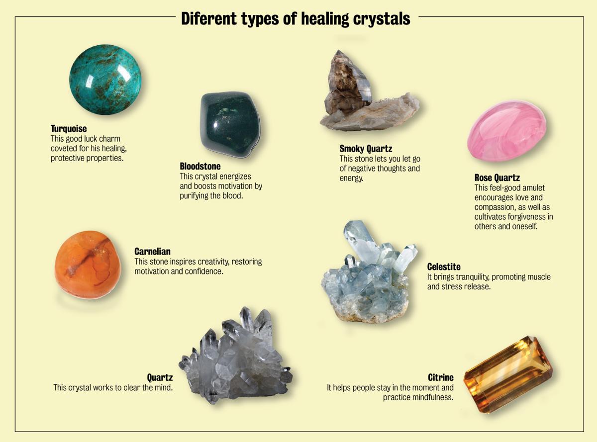 Healing crystals bring good vibes, energy | Life +