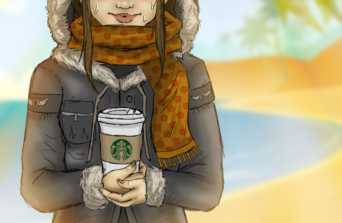 Community: Pumpkin spice latte is bringing the heat way too early