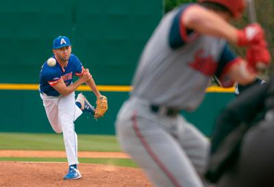 UTA baseball claims first place, pitcher ties school record