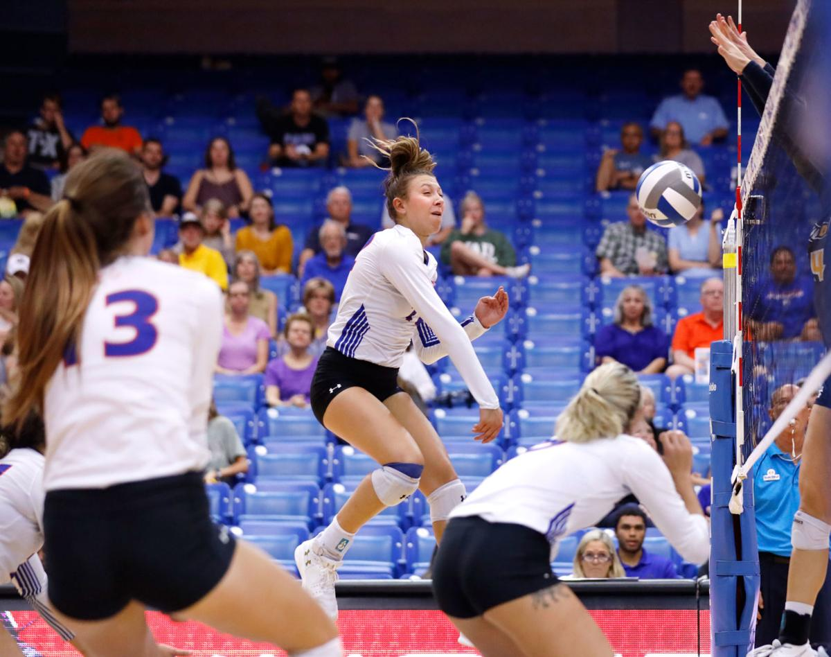 Photos: UTA sweeps Southern University, falls to University of North Carolina at Greensboro
