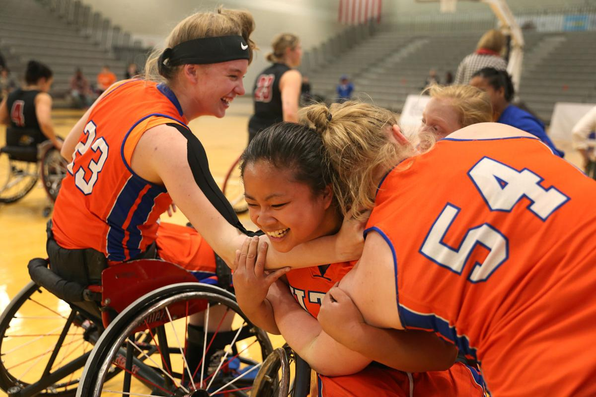 Lady Movin' Mavs go undefeated, win second national title