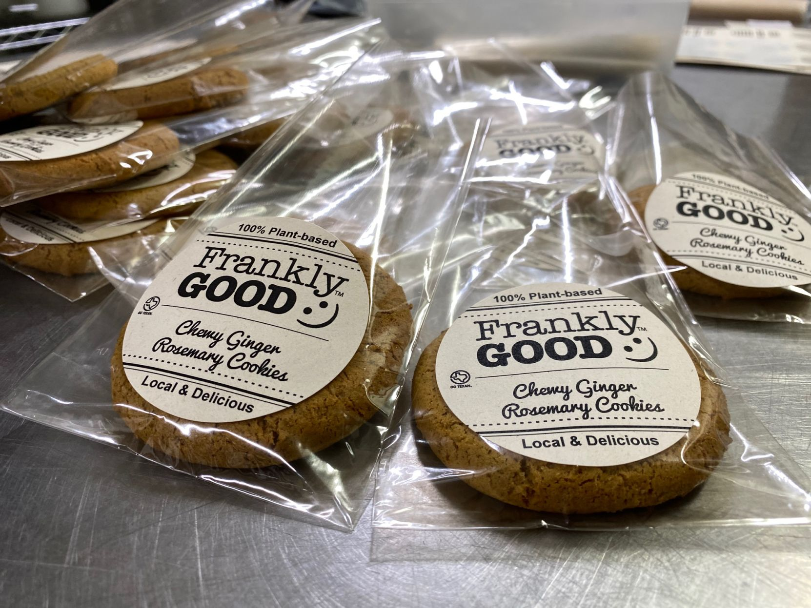 Mother-son startup Frankly Good offers sweet vegan treats