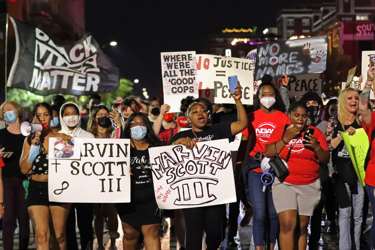 Almost a year after George Floyd's death, nationwide protests continue against police brutality