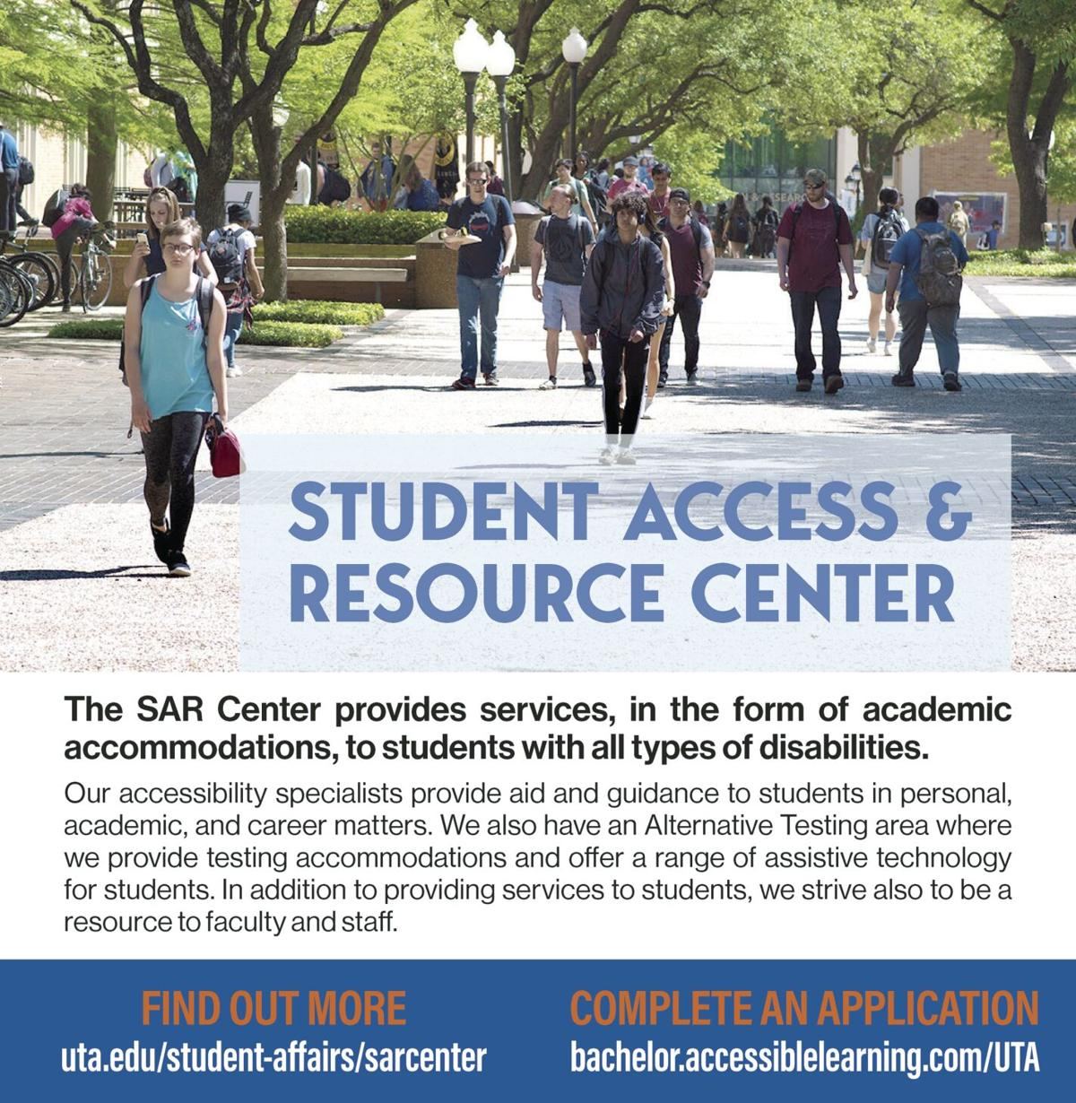 UTA Student Access & Resource Center