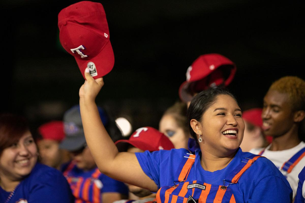 Photos: Students watch Rangers defeat Rays in last UTA Night with the Rangers at Globe Life Park