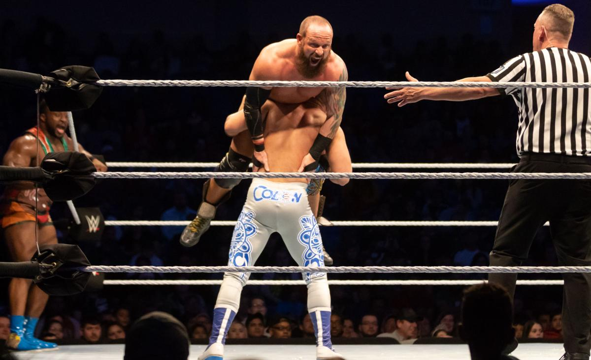 Professional wrestlers go toe-to-toe in WWE Live Holiday Tour