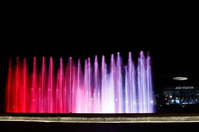 Live by Loews lights up Arlington's Entertainment District with new show fountain