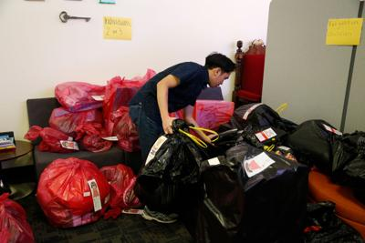 UTA Volunteers and The Salvation Army send gifts to those in need through Angel Tree event