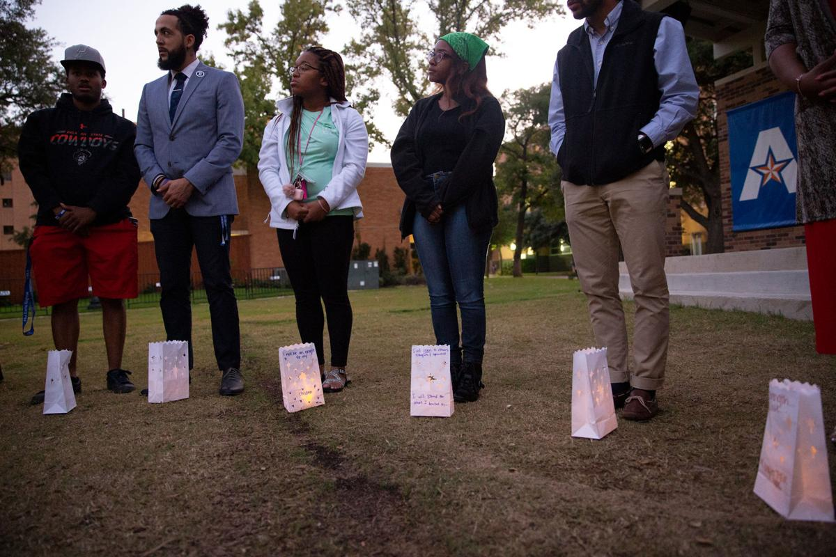 UTA community holds Candlelight Vigil and Emotional Release in honor of Atatiana Jefferson