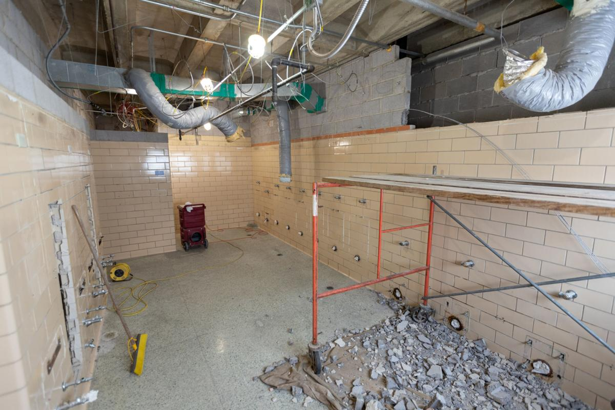 Woolf Hall renovations likely to continue into fall semester