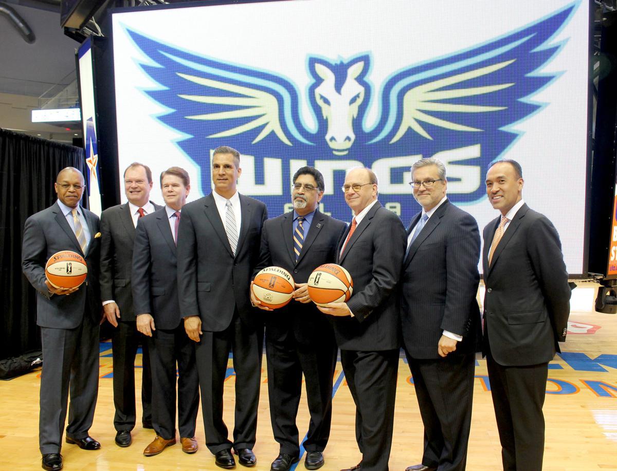 WNBA introduces the Dallas — not Arlington — Wings