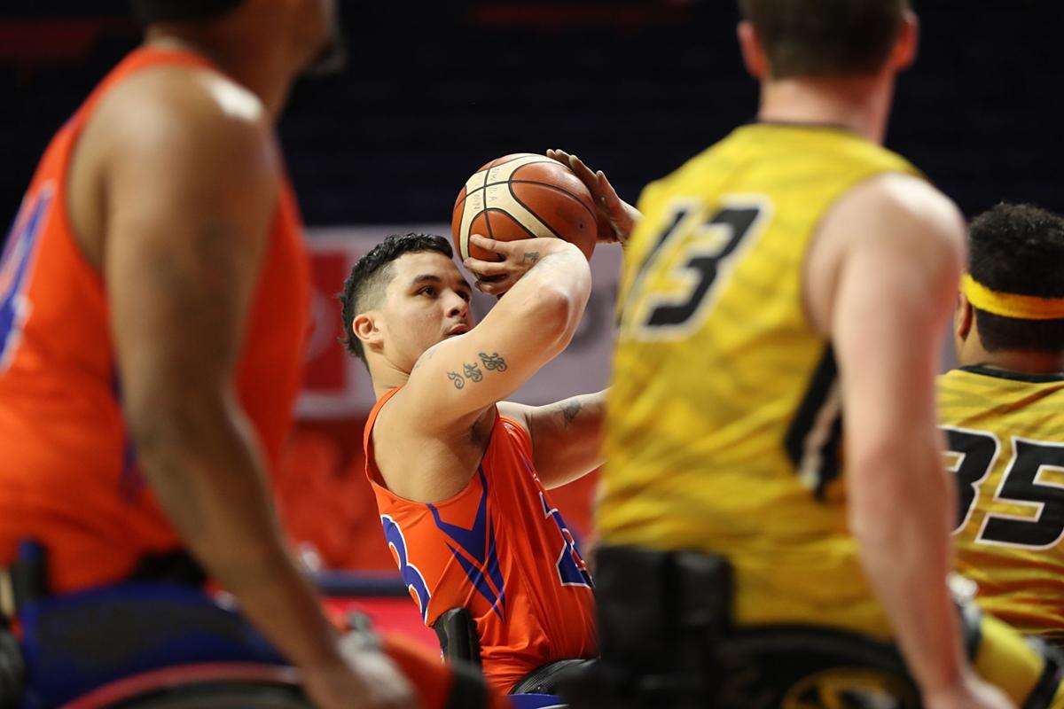 Photos: Movin' Mavs finish third in 2019 National Intercollegiate Wheelchair Basketball