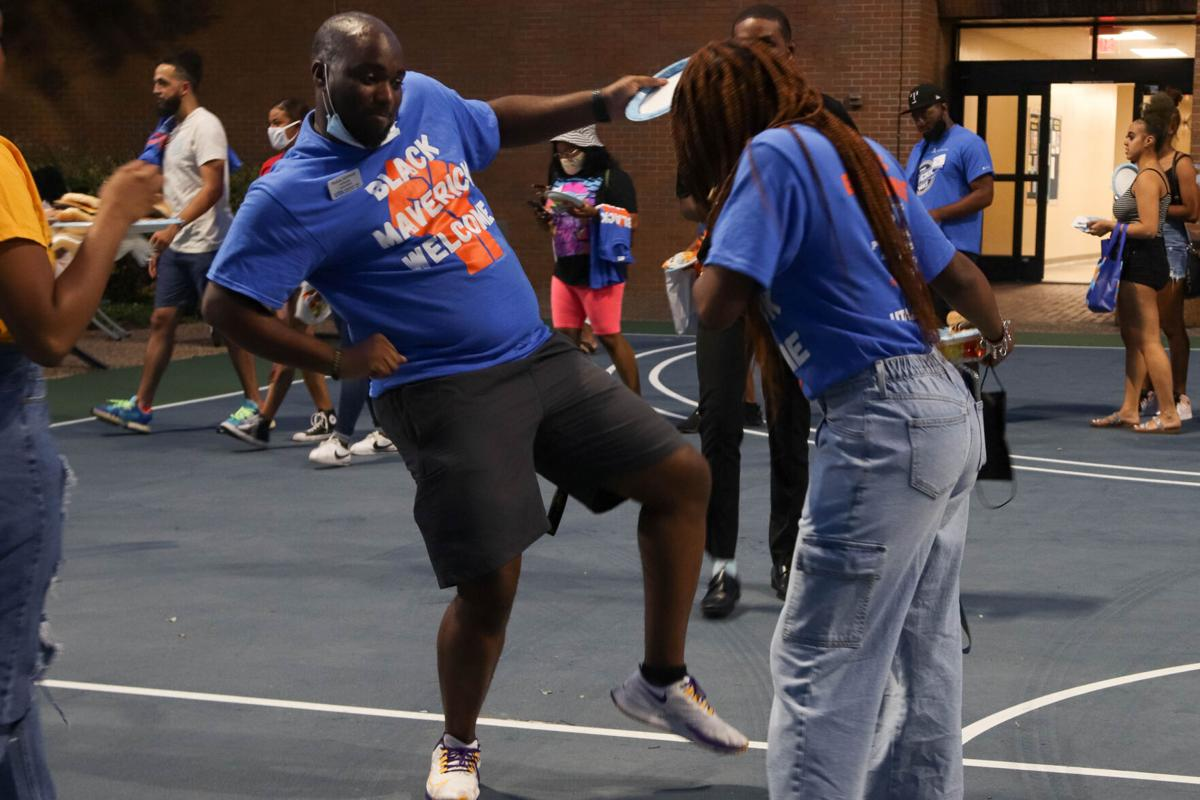 Photos: Black Maverick Welcome event helps UTA students of color navigate campus life