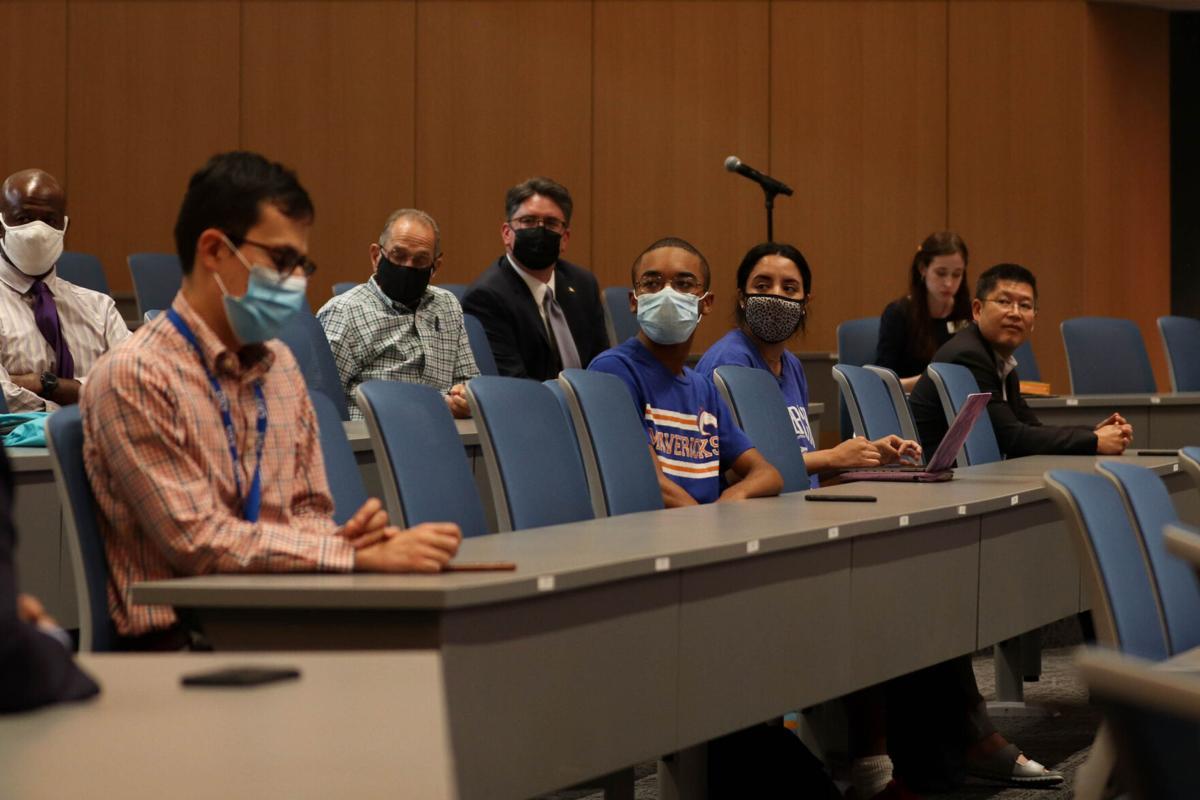 UT Systems hosts town hall meeting regarding UTA's presidential search