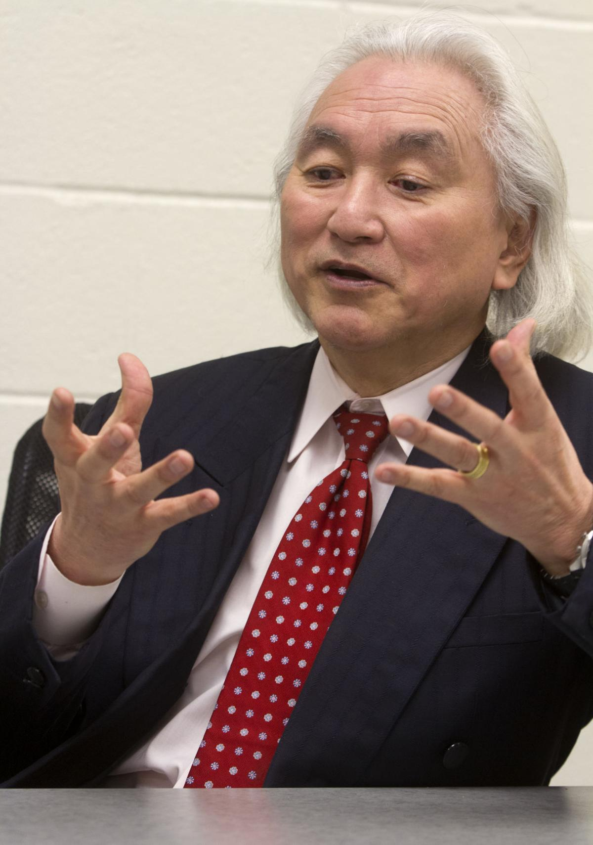 'It's all because of physics': an interview with Michio Kaku