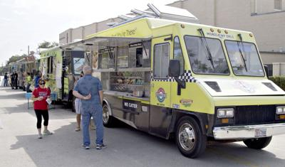 Food trucks roll in to S.J. Stovall Park