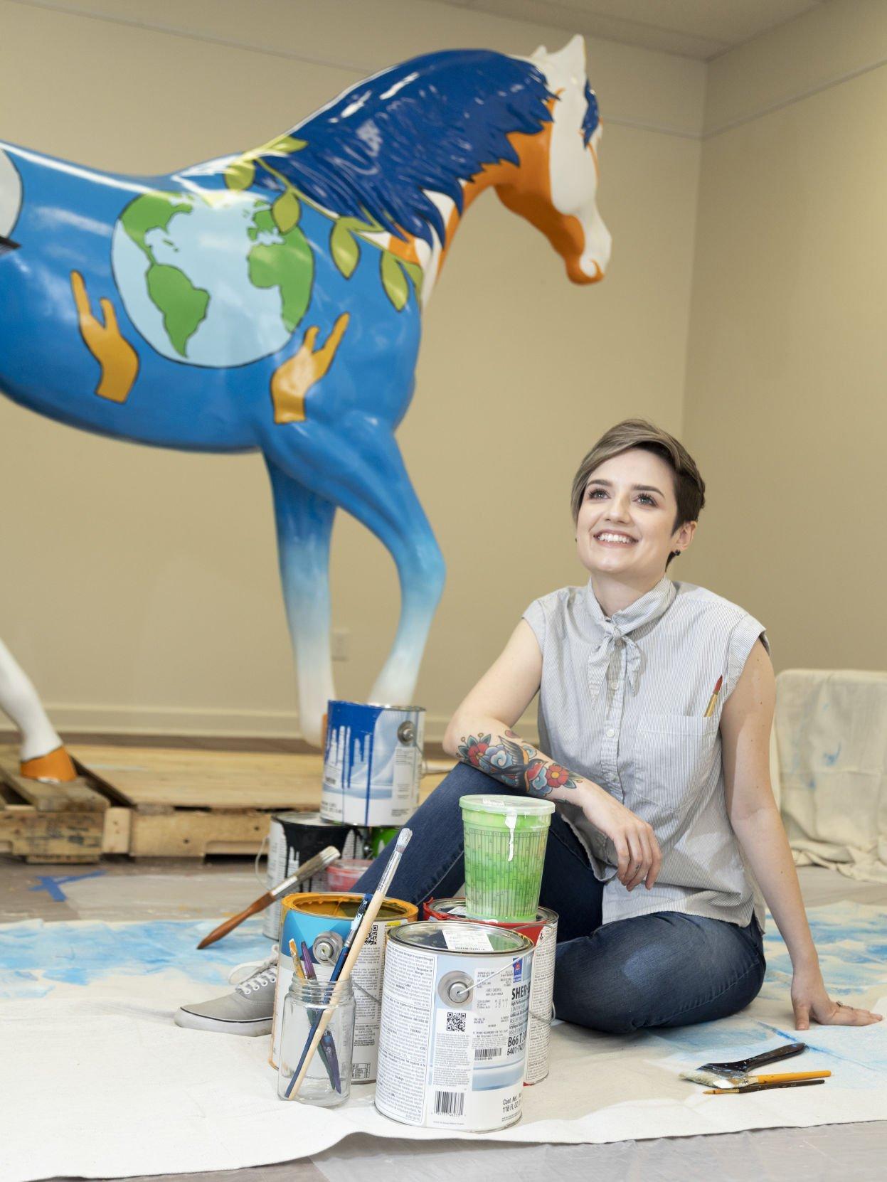 Photos: New spirit horse Brilliance embodies UTA's 2020 strategic plan