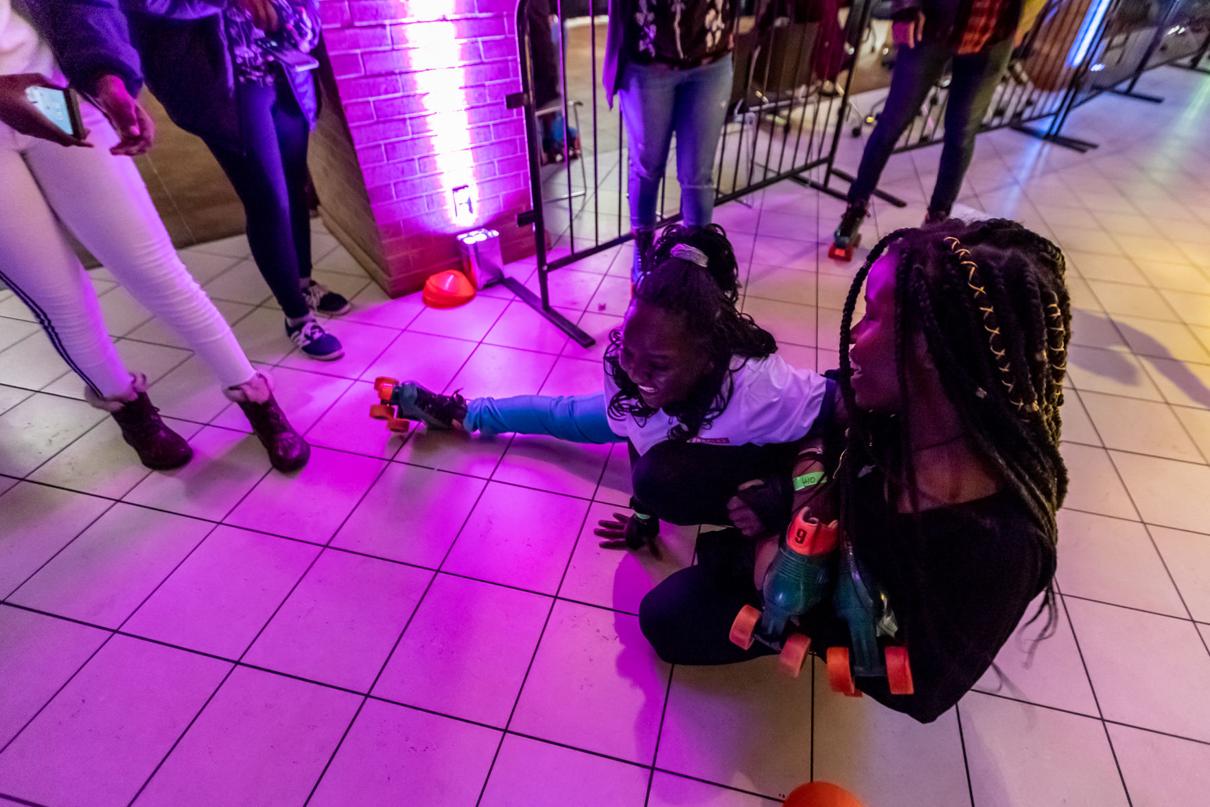 Photos: EXCEL turns the UC Palo Duro Lounge into a roller rink for Rollercade
