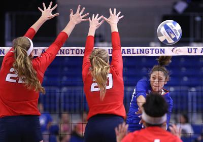 Volleyball team readies for road match