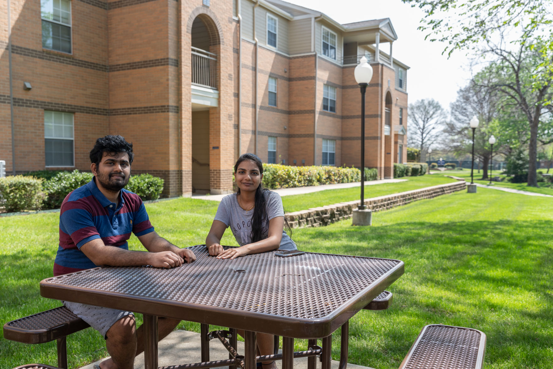 Faces of UTA: the students still on campus during the COVID-19 pandemic