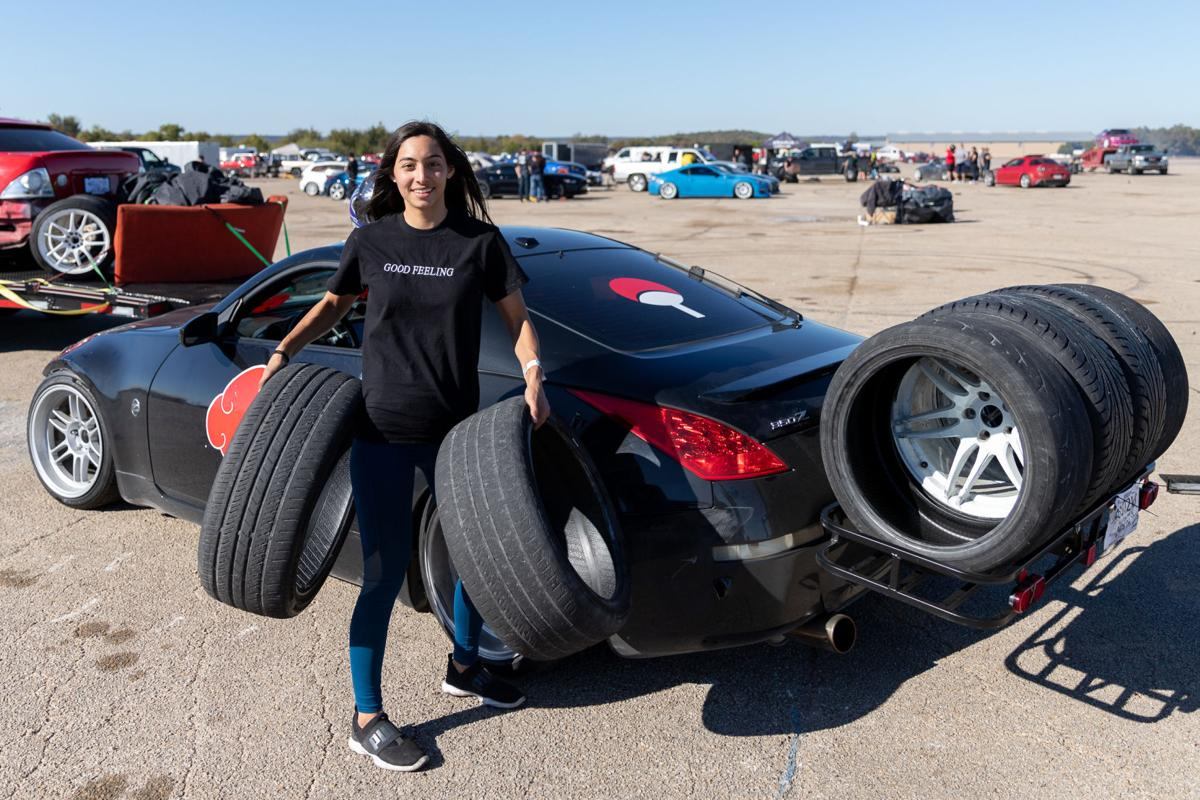UTA student burns rubber in competitive drifting, impresses peers on the racetrack