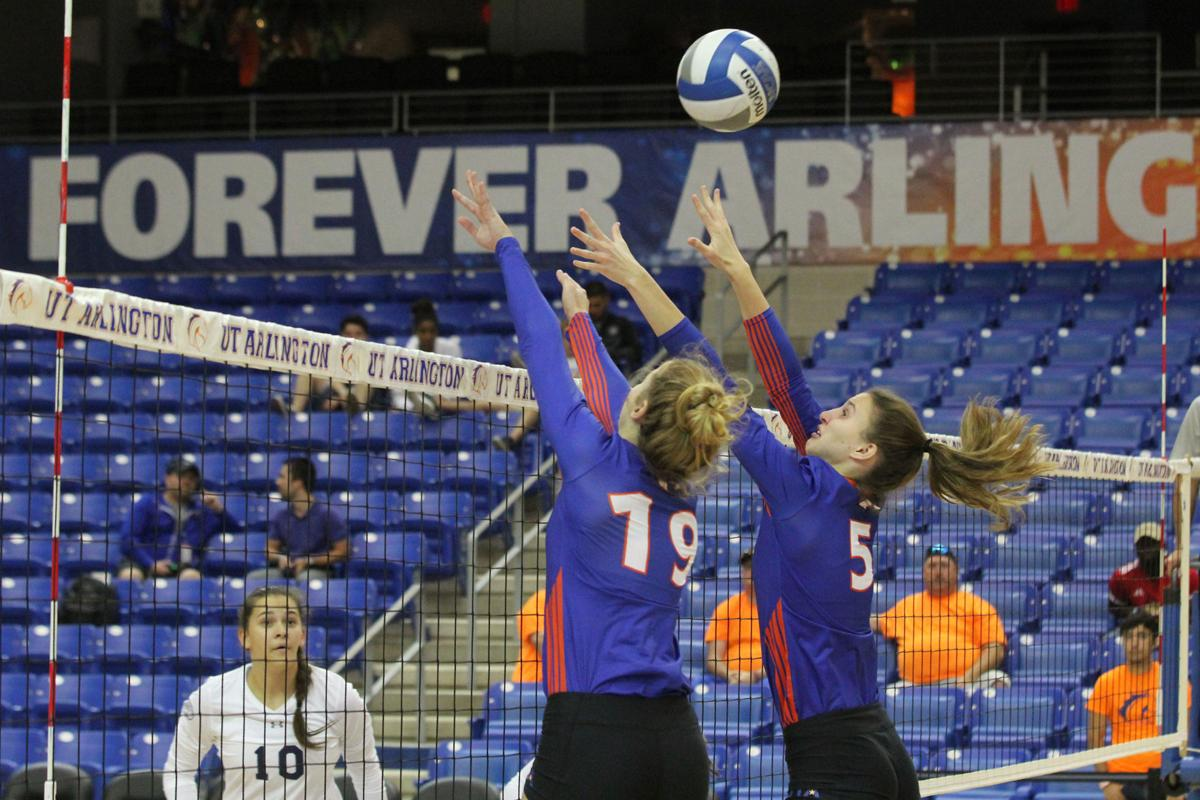Volleyball snaps 6-match win streak in Maverick Invitational finale
