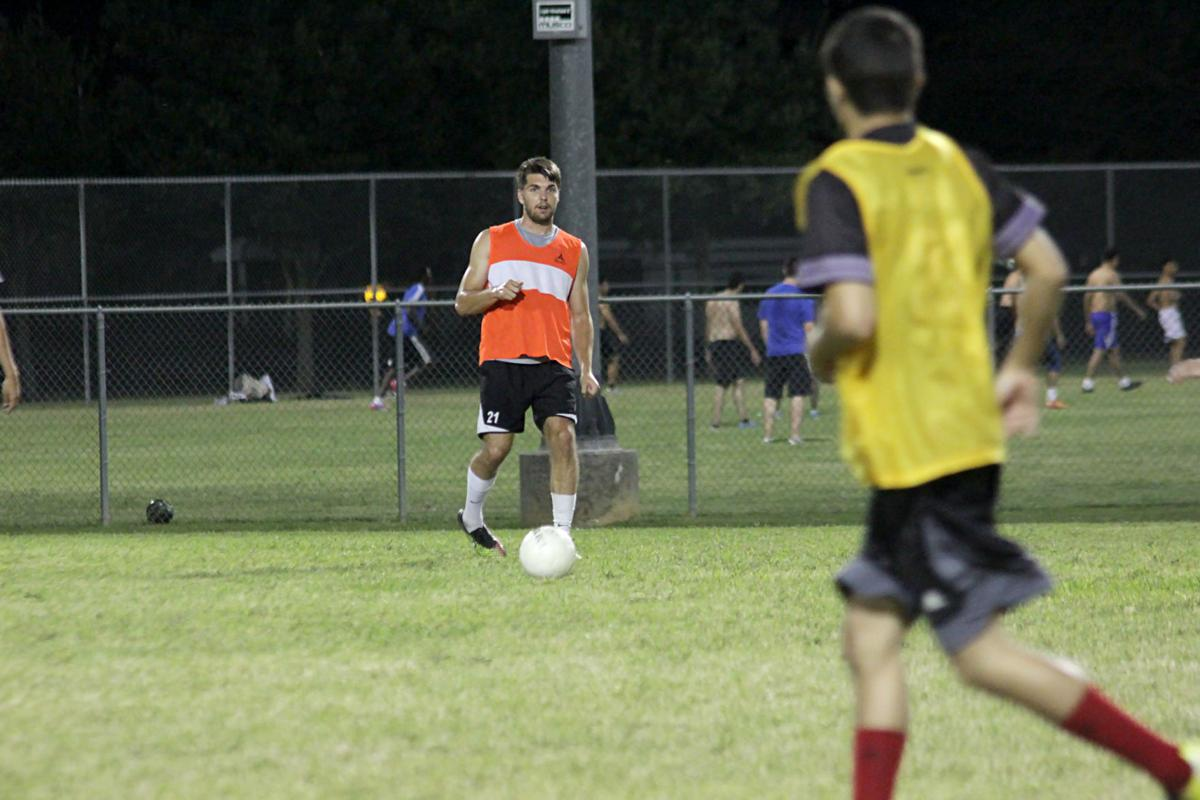 Soccer seniors discuss playing for team without governing body