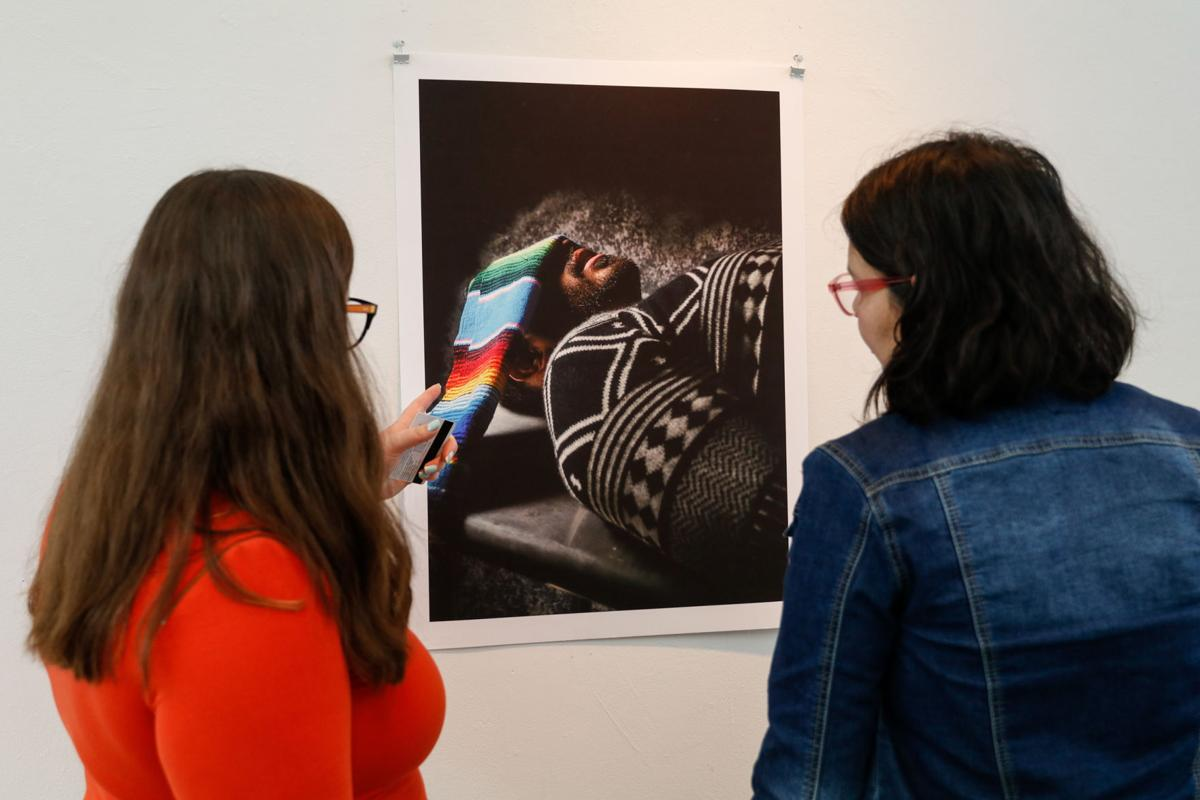 Photos: The Continuum exhibition showcases art, photography from UTA's LGBTQIA+ community