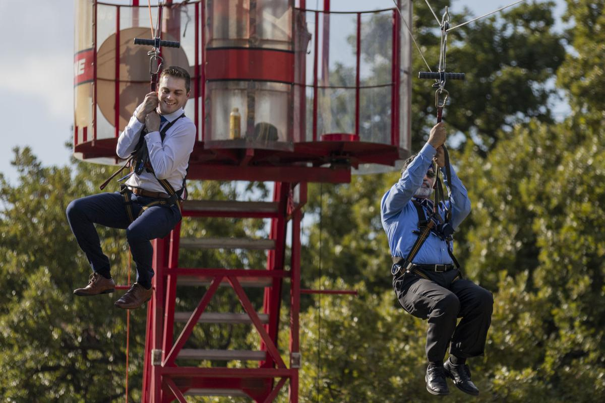 Photos: MavsMeet Convocation, AfterParty feature zip line, mechanical bull, music