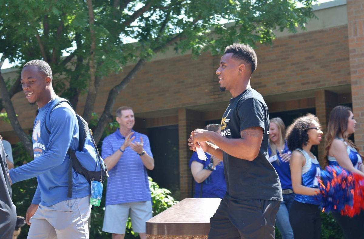 UTA holds send off for NCAA Preliminary-bound track and field team