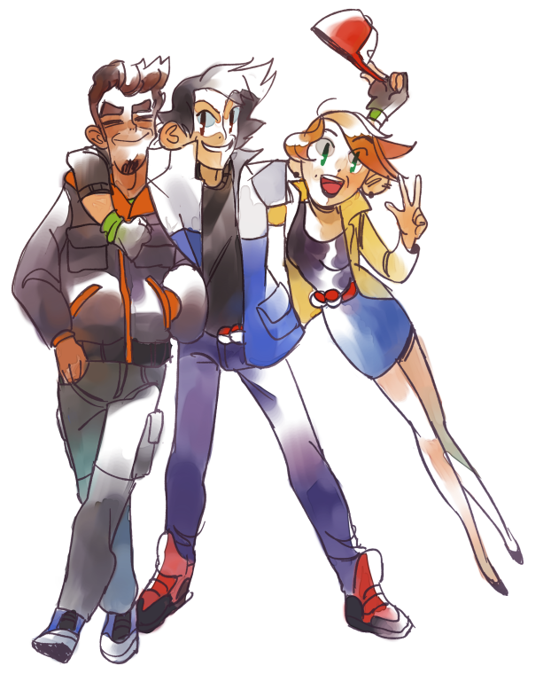 Pokemon masters all grown up