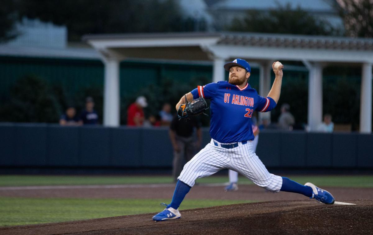 UTA baseball senior pitcher leads win over Dallas Baptist University